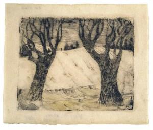 Du medžiai, 1905-1906