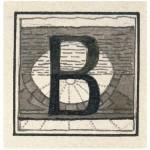 Inicialas B, 1908