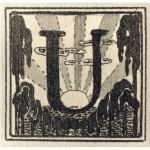 Inicialas U, 1908