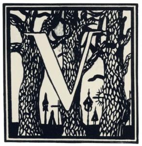 Inicialas V, 1908