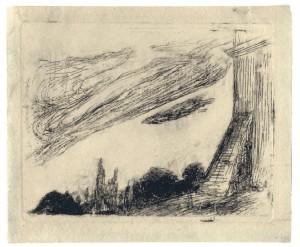 Kontraforsas (Pastato ramstis), 1905
