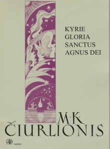 Mikalojus Konstantinas Čiurlionis. Kyrie, Gloria, Sanctus, Agnus Dei