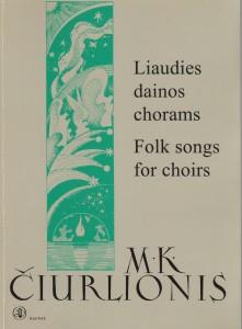 Liaudies dainos chorams 1999