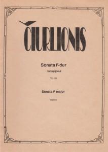 M.K.Čiurlionis. Sonata F-dur fortepijonui
